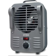 1,500 Watt Portable Electric Convection Utility Heater with Themostat