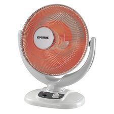 Portable Electric Radiant Compact Heater with Oscillation