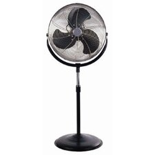 "18"" High Velocity Oscillating Pedestal Fan"