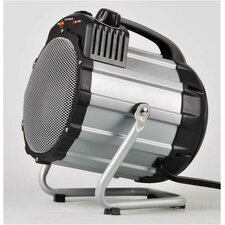 Portable Electric Fan Utility Heater with Thermostat