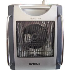 Portable Electric Convection Utility Heater with Thermostat