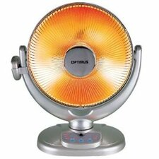Portable Electric Fan Compact Heater with Remote Control and Oscillating