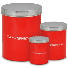 Red Kitchen Canisters Amp Jars Wayfair