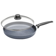 "Diamond Plus 12.5"" Non-Stick Frying Pan with Lid"