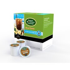 Green Mountain Coffee Roasters French Vanilla Iced Coffee K-Cup (Pack of 96)