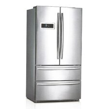 20.8 cu. ft. French Door Refrigerator in Silver