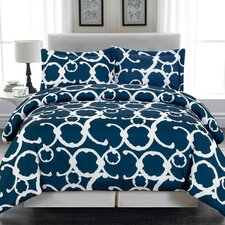 Rhys 3 Piece Full/Queen Duvet Cover Set