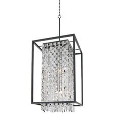 Amethyst 9 Light Foyer Pendant