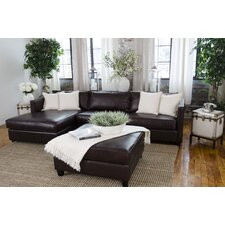 Urban Top Grain Leather Sectional