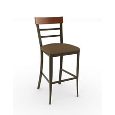"""Countryside Style 30.25"""" Bar Stool with Cushion"""