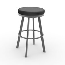 "Urban Style 26.25"" Swivel Bar Stool with Cushion"