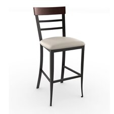 "Countryside Style 26.25"" Bar Stool with Cushion"