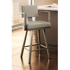 "Urban Style 30.25"" Swivel Bar Stool with Cushion"