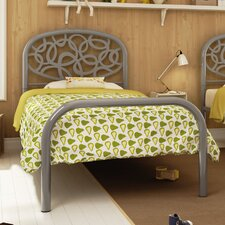 Alba Metal Panel Bed