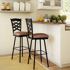 "Nest 31.63"" Swivel Bar Stool with Cushion"