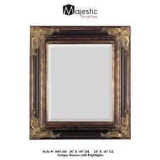 Traditional Rectangular Bevel Wall Mirror