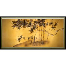 Bamboo Tree Framed Painting Print