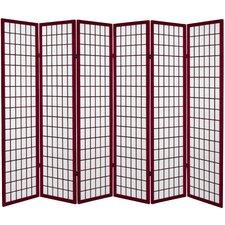 "71"" x 94.5"" Window Pane 6 Panel Room Divider"