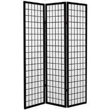 "71""x 38.75"" Window Pane Room Divider"