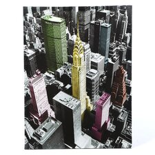 High-Lights of New York Graphic Art on Wrapped Canvas