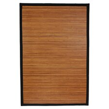 Burnt Bamboo Area Rug