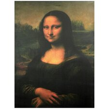 'Mona Lisa' by Leonardo Da Vinci Painting Print on Wrapped Canvas