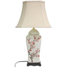 """26"""" H Table Lamp with Bell Shade"""