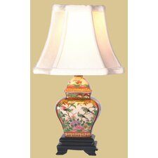 """Jar 15"""" H Table Lamp with Bell Shade"""