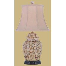 "22"" Porcelain Jar Lamp"