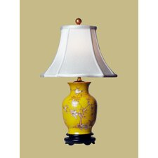 Birds and Flowers Vase Table Lamp