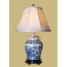 """Temple 30"""" H Table Lamp with Empire Shade"""