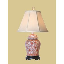 """Temple 24"""" H Table Lamp with Empire Shade"""