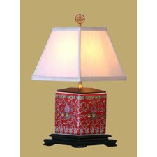 """Porcelain 24"""" H Table Lamp with Empire Shade"""