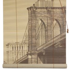 Brooklyn Bridge Bamboo Roller Blind