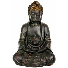 Japanese Sitting Buddha Garden Statue
