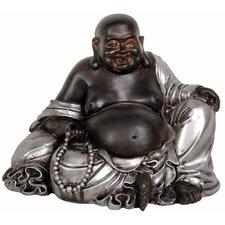 Sitting Lucky Buddha Figurine