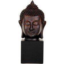 Thai Buddha Head Bust