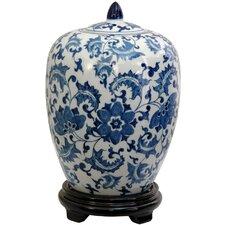 Floral Design Decorative Urn