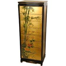 Gold Leaf 8 Drawer Cabinet