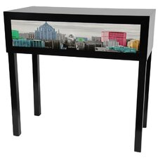 Colorful New York Console Table