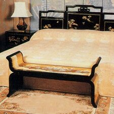 Chinese Gold Leaf Bedroom Bench