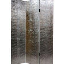 "70.88"" x 47.25"" 3 Panel Room Divider"