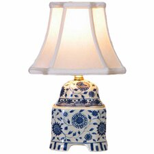 """Jar 16"""" H Table Lamp with Bell Shade"""