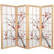 """48"""" Low Cherry Blossom Shoji Room Divider"""
