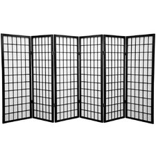 "48"" Shoji Window Panel Room Divider"