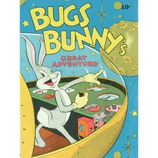 Retro Bugs Bunny Comic Cover Graphic Art on Canvas