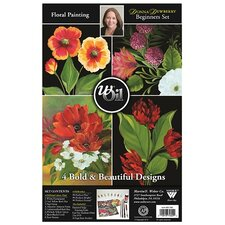Donna Dewberry wOil Basic Floral Painting Set with DVD