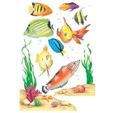 Fish Window Cling (Set of 4)