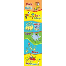 Seuss Cat in The Hat Class Rules Poster (Set of 2)