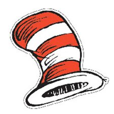 Dr Seuss The Cats Hat Bulletin Board Cut Out